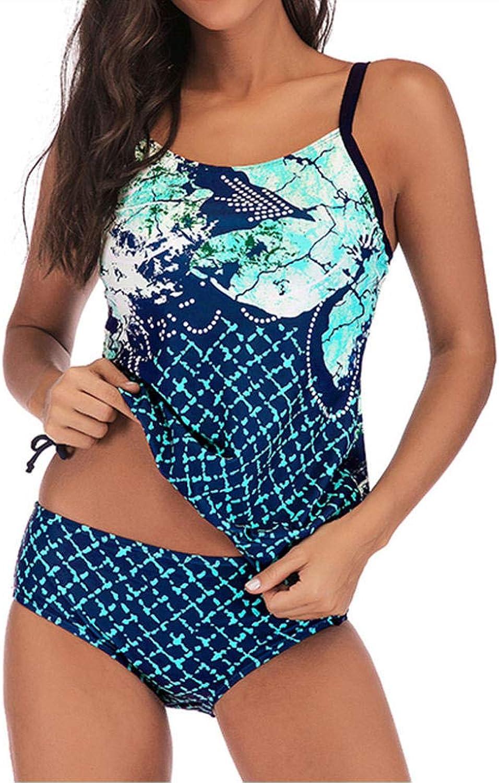 Wymw Plus Größe Bademode Für Frauen Sexy Polka Dot Sets Zweiteiler Big Größe Print Beach Wear Badeanzug Grün