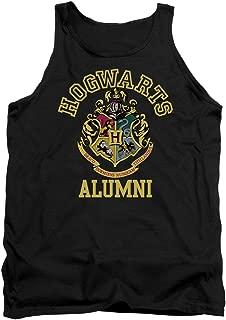 Trevco Harry Potter Hogwarts Alumni Adult Tank Black