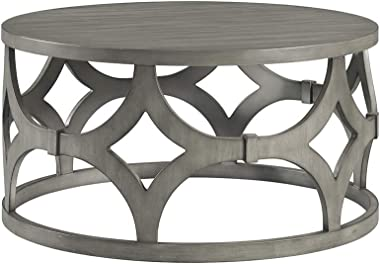 Lane Home Furnishings 7617-45 Round Cocktail Table, Grey