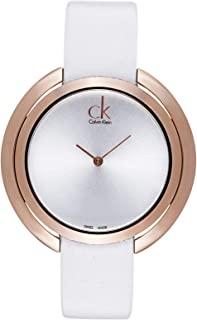 Calvin Klein Casual Watch For Women Analog Leather - K3U236L6