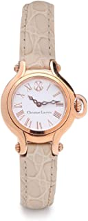 Christian Lacroix Dress Watch For Women Analog Leather