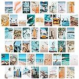 50 Blaues ästhetisches Bild für Wandcollage, Sommer
