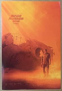 BLADE RUNNER 2049 MOVIE POSTER 1 Sided ORIGINAL MINI SHEET 11x17 HARRISON FORD