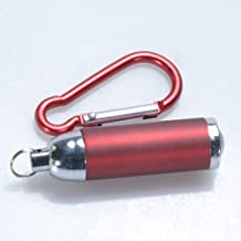 ETbotu Mini Pocket LED Flashlight Torch Key Chain Keyring Hook for Home and Outdoor Activities