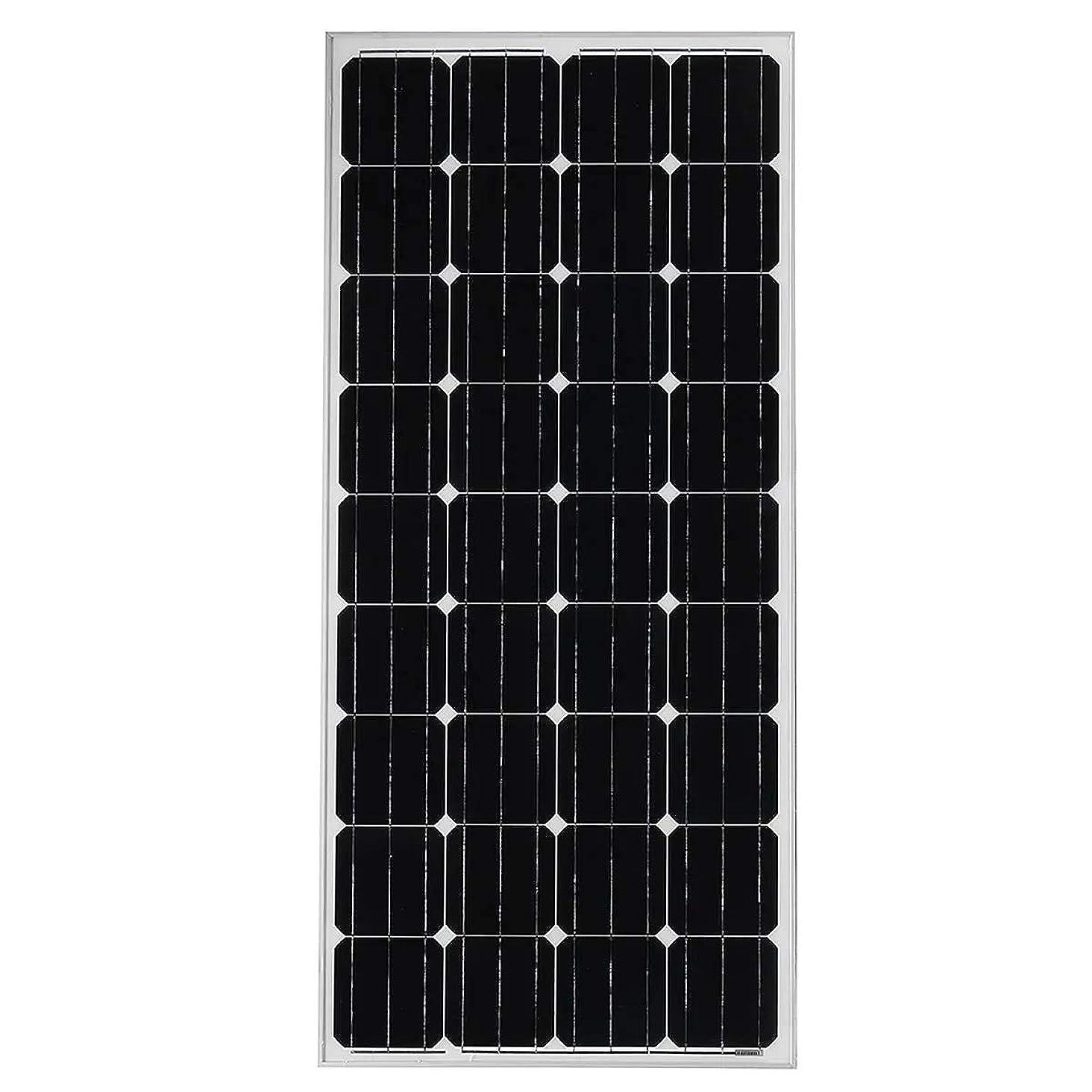 適合しました中断匿名ソーラーパネル 200W 11A 18V単結晶ソーラーパネル柔軟な折りたたみプレート (Color : Silver, Size : 480x680x35mm)