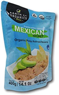 12 Pack Refried pinto Beans Mexican Secret with Epazote original and traditional flavor.