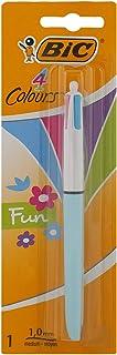 Bic 889987 BZ624 4 Fun Ballpoint Pen Fashion Colours (Pack of 1)