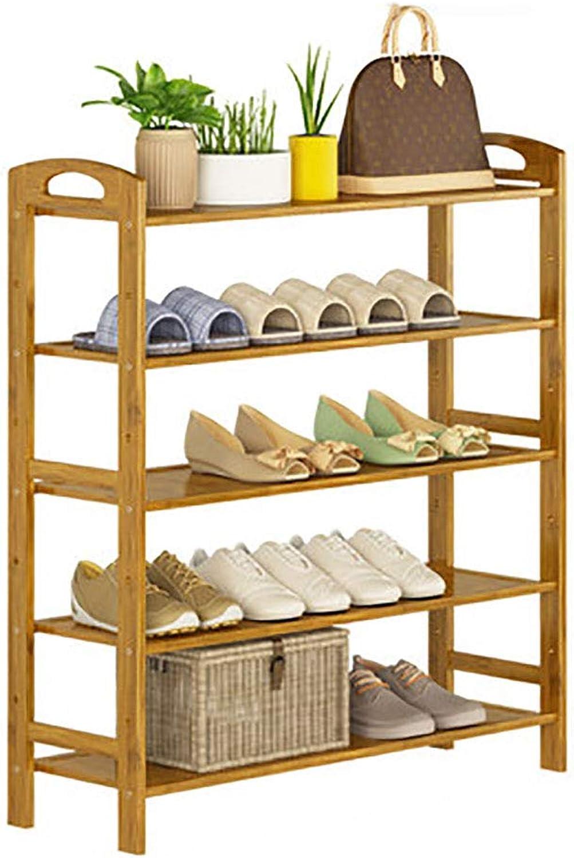 Portable shoes Shelf shoesbox Organizer Entryway Floor-Standing shoes Storage Rack Porch shoes Cabinet (Size   L-50cm)
