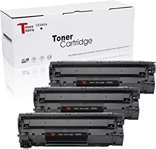 TonerSave CE285A Toner Cartridge HP 85A for HP Laserjet Pro P1102W M1212NF M1217NFW P1102 P1100 P1102WHP Pro M1132 M1210 M1130 Printer Black 3 Pack