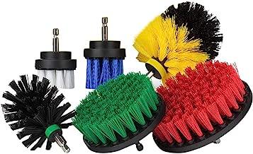 blanc 5 Brosse de Nettoyage Perceuse Rameng Drill Brush Brosse pour Perceuse pour Voiture Salle de Bain Cuisine