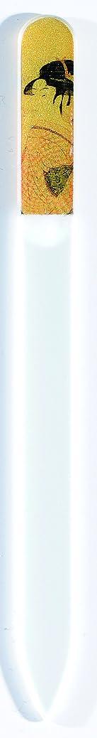 観察制裁火曜日橋本漆芸 ブラジェク製高級爪ヤスリ 特殊プリント加工 ポッピンを吹く女 OPP