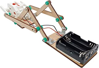 STEAM Education Kit - Wiggly Caterpillar DIY Wooden Bionic Robot for Kids Age 8-12