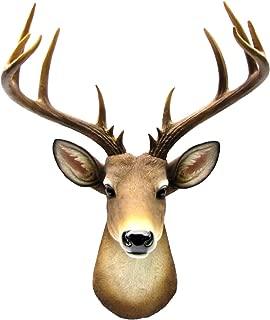 Wall Mount Mule Deer Shoulder Bust/Fake Taxidermy Buck Head Man Cave/Cabin Decor