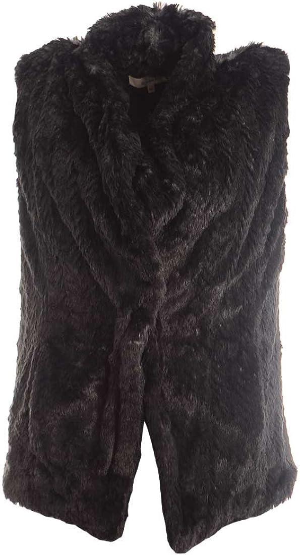 Wildflower Women's Faux Fur Vest