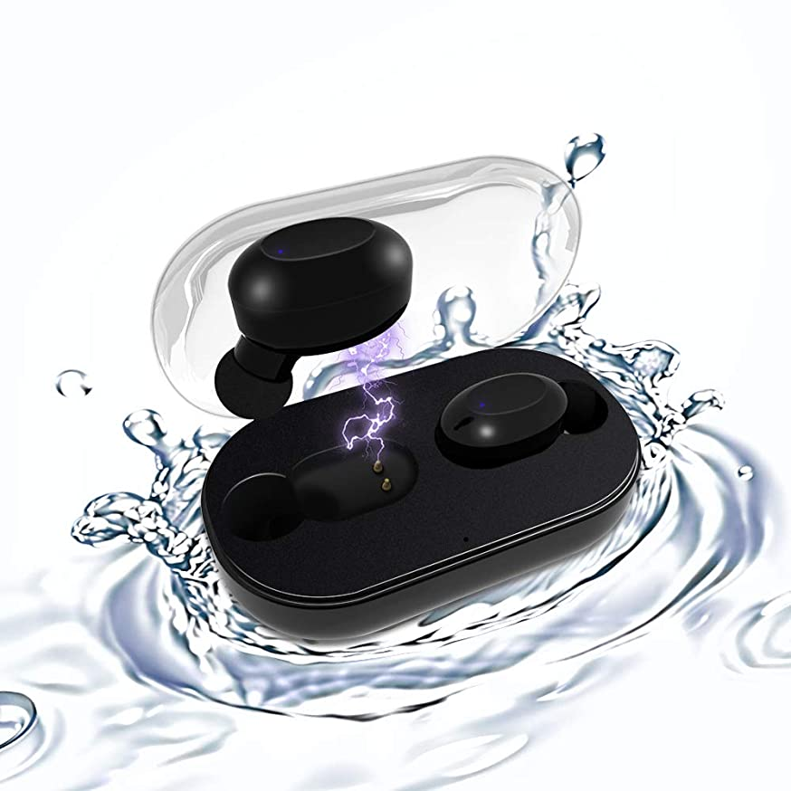 仮装シャイ物理的にワイヤレスイヤホン Bluetooth イヤホン 3D Hi-Fi高音質 CVC6.0ノイズキャンセル技術 自動的にペアリング 両耳通話対応 左右両耳対応