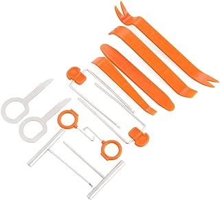 VCiiC Auto Door Clip Panel Trim Removal Tool Kits for Toyota Corolla Yaris BMW E46 E39 E36 E90 Audi A4 A6 Accessories[12PCS]