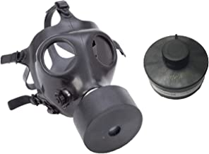 Israeli Rubber Respirator Mask NBC Protection For Industrial Use, Chemical Handling, Painting, Welding, Prepping with Drinking Straw/Tube With Extra Filter