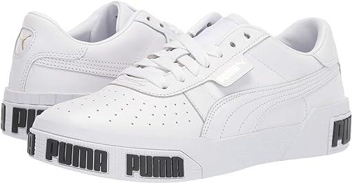Puma White/Metallic Gold