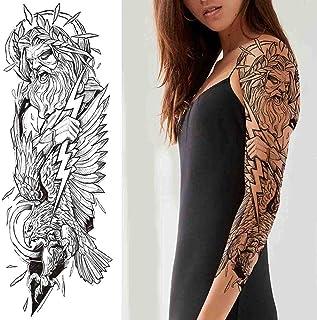 Maori tribale tijdelijke tattoo mannen en vrouwen leeuw wolf tattoo stickers volwassen tiki grote zwarte schildpad tattoo ...
