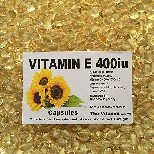 The Vitamin Vitamin E 400iu (268mg) 365 Capsules- Bagg