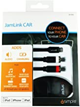 iSimple RCA-Lightning接続(2.4A充電可)ケーブル Jam LINK CAR(IS7505)