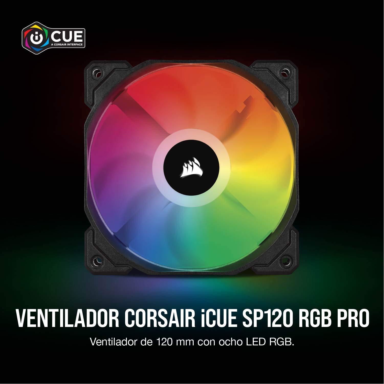 Corsair iCUE SP120 RGB PRO - Ventilador de chasis de 120mm ...