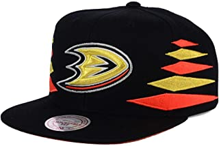Mitchell & Ness Anaheim Ducks Solid Diamond Snapback Hat