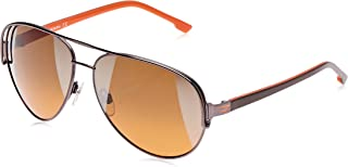 Diesel Aviator Unisex Sunglasses - DL0066 10P - 60-13 -130 mm Orange