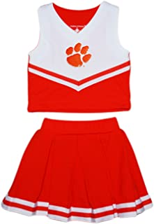 Clemson University Tigers Toddler and Youth 2-Piece Cheerleader Dress