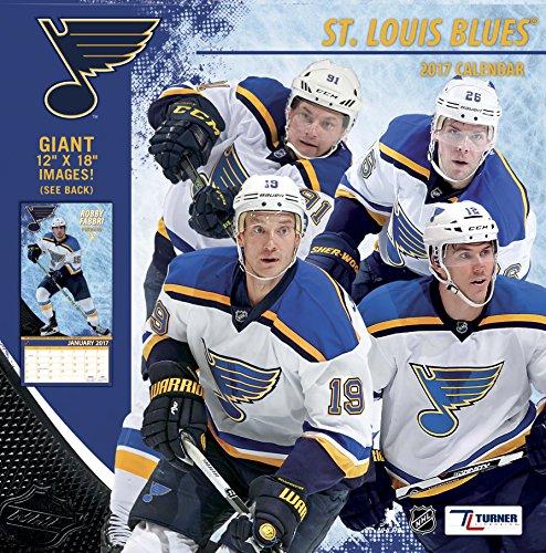 "Turner Licensing Sport 2017 St Louis Blues Team Wall Calendar, 12""X12"" (17998011955)"