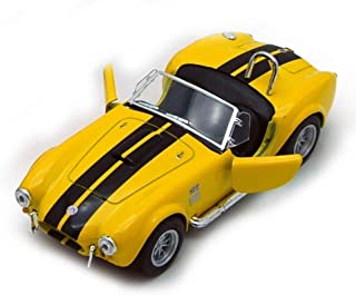 Kinsmart 1965 Shelby Cobra 427 S/C 1:32 Yellow (New, NO Box)