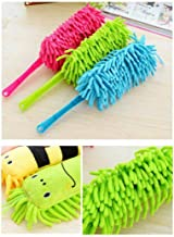 Hotstype Durable Practical Cartoon Round Head Home Dust Removal Cleaning Brush Feather Dusters