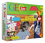 FRANZIS 67073 - GEOLINO Experimentierkasten Abenteuer Elektronik, Set mit...