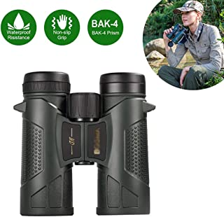 Image of 8x42 Binoculars for Adults,Professional HD Low Light Night Vision Large Eyepiece BAK4 Prism Lens Binoculars,for Bird Watching Hunting Travel Sports Opera Concert