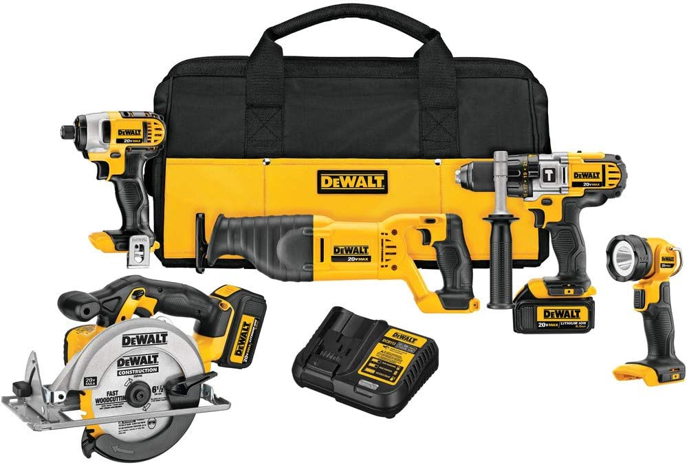 DEWALT 20V MAX Cordless Max 85% OFF Drill Inexpensive DCK590L2 Kit Combo 5-Tool