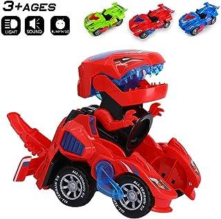 Kkones Dinosaur Race Car Track Train