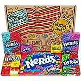 Heavenly Sweets Dulces Nerds Cesta Caramelos - Selection Americana, Rainbow Nerds, Nerds Mini Boxes...