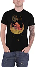 Opeth T Shirt Devil Distressed Band Logo Official Mens Black Size XL