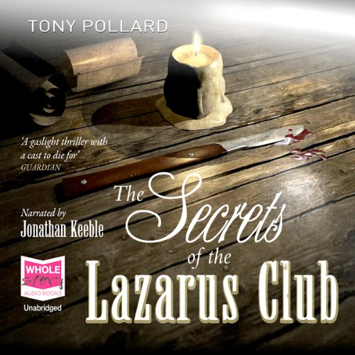 The Secrets of the Lazarus Club cover art