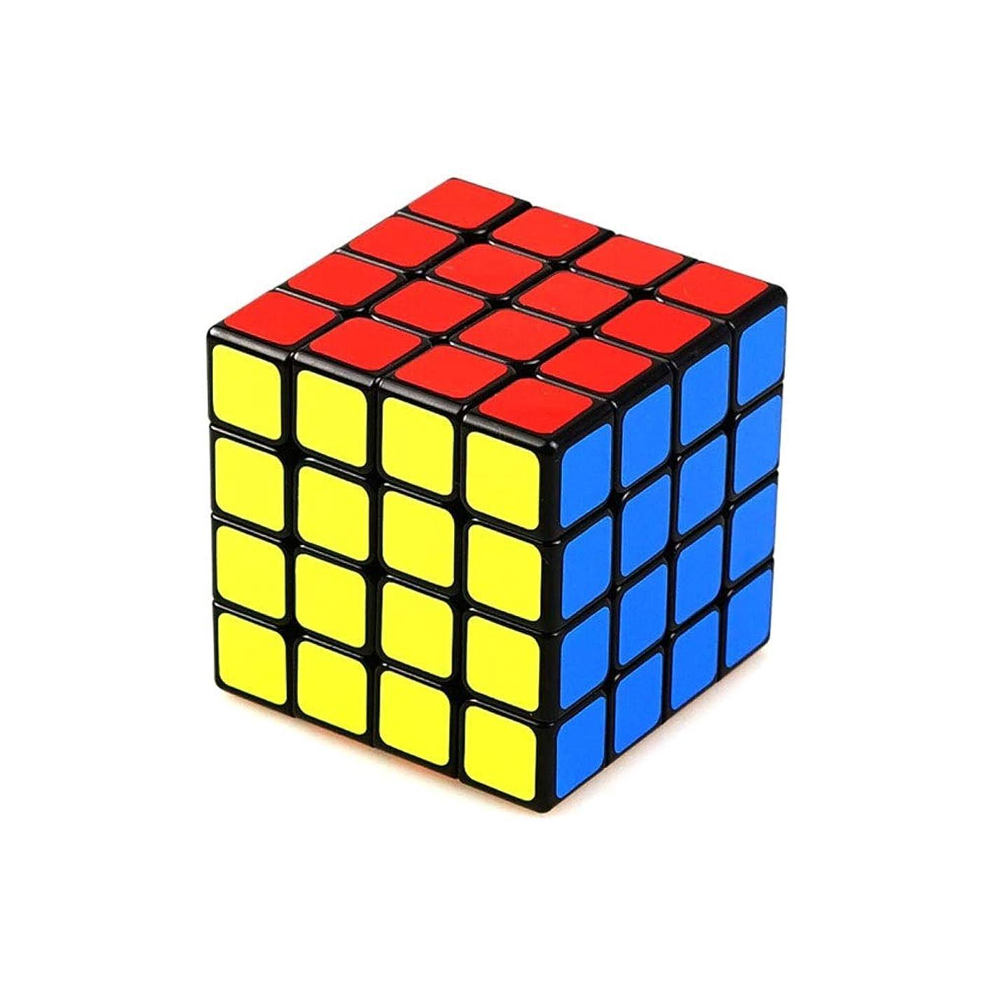 漏斗お世話になった仮装ルービックキューブ、スタイリッシュでスモールルービックキューブゲームプロフェッショナル版、使いやすく、快適で安全かつ環境にやさしいデザイン(3/4) (Edition : Fourth-order)