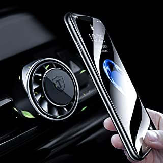 Car Phone Holder Ovege Magnetic Car Mount 4 in 1- Car Air Freshener- Car Decoration-Compatible with iPhone Xs Max XR X 8 P...