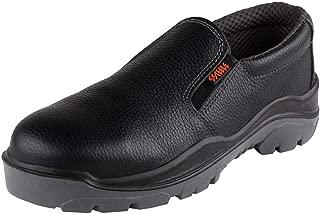 ACME Men's Ozone Safety Shoes Black Leather (Size - ACME035-41)
