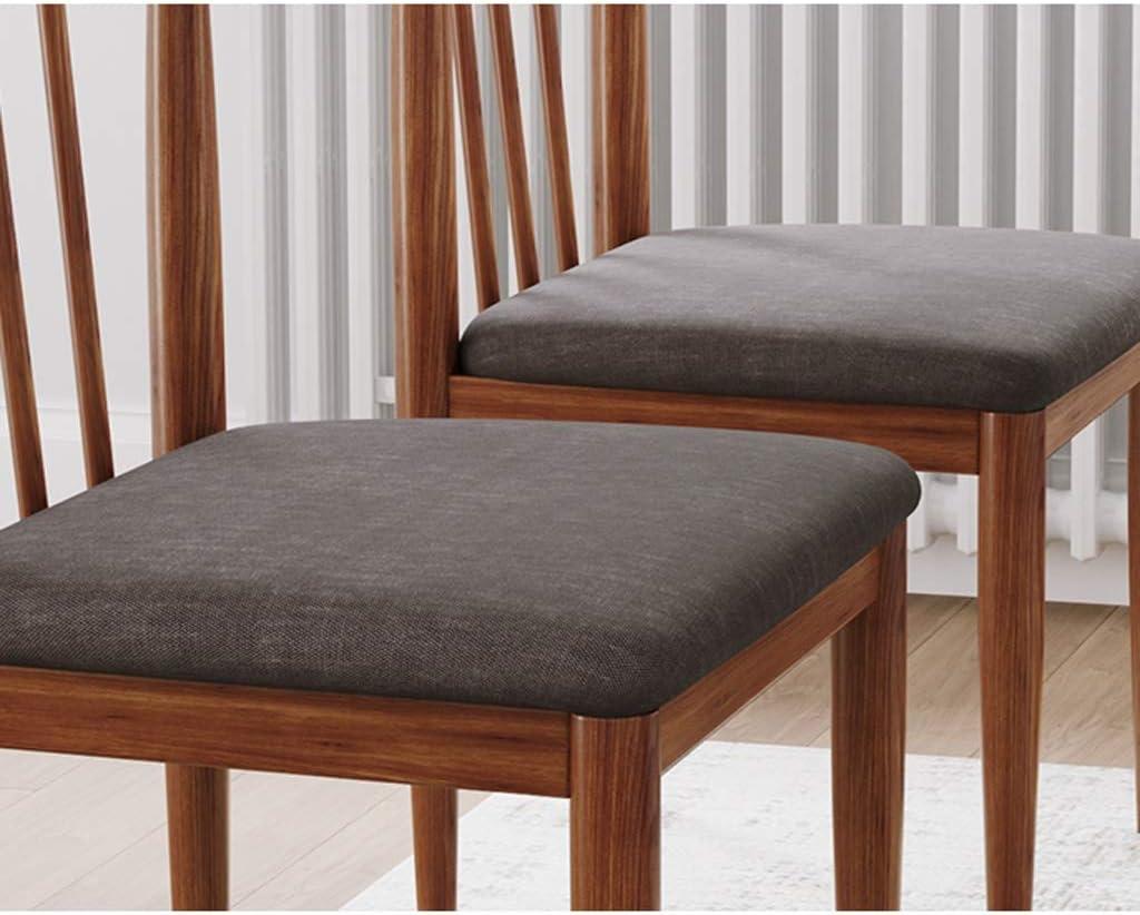 WDX- Chaise de salle, Chaise de bureau simple, créative Dossier, Chaise Loisirs, Maison adulte Chaise de salle mode (Color : Dark color) Dark Color