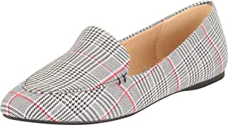 Cambridge Select Women's Pointed Toe Slip-On Flat Loafer