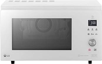 LG MJ3965BPH Microondas, 1100 W, 39 litros, Blanco