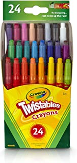 Crayola Twistables Crayons Coloring Set, Kids Indoor...