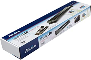 Aqueon LED Aquarium Light Fixture (Renewed)