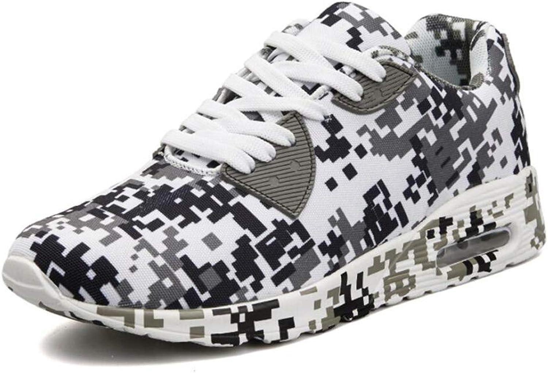 Xxoshoe Men Women's Platform Wedges Tennis Walking Camouflage Sneakers Comfortable Lightweight Casual Fitness shoes