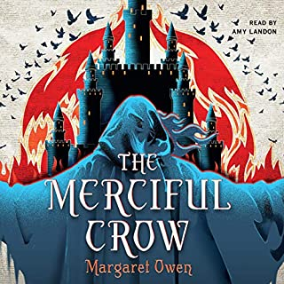 The Merciful Crow audiobook cover art