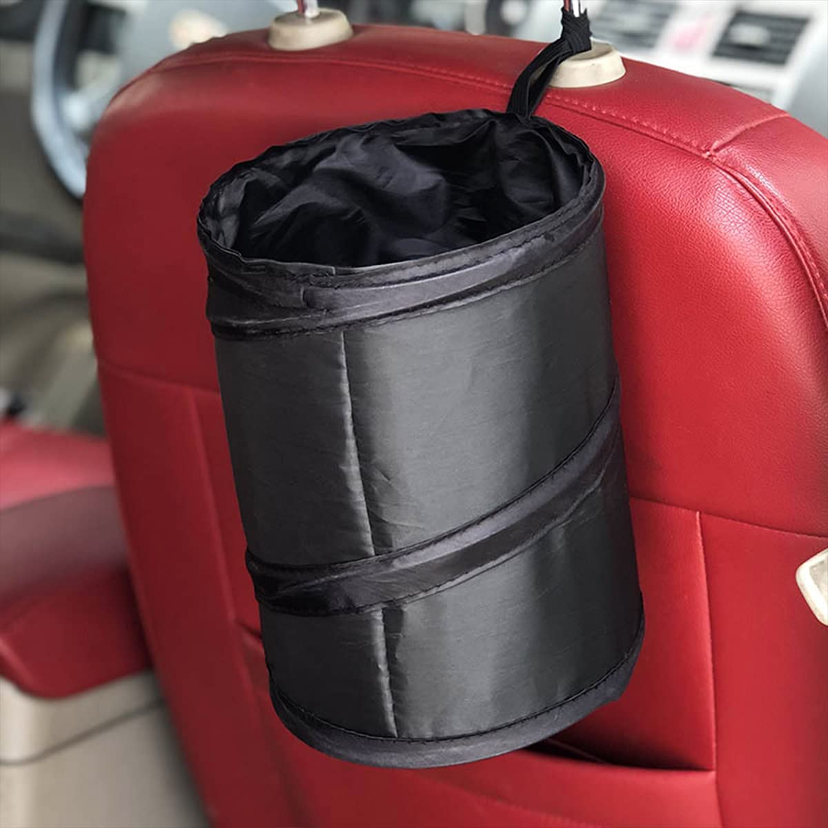 Ranking TOP9 Car Trash Can Portable Garbage and Collapsible Bin Proof Max 79% OFF Water